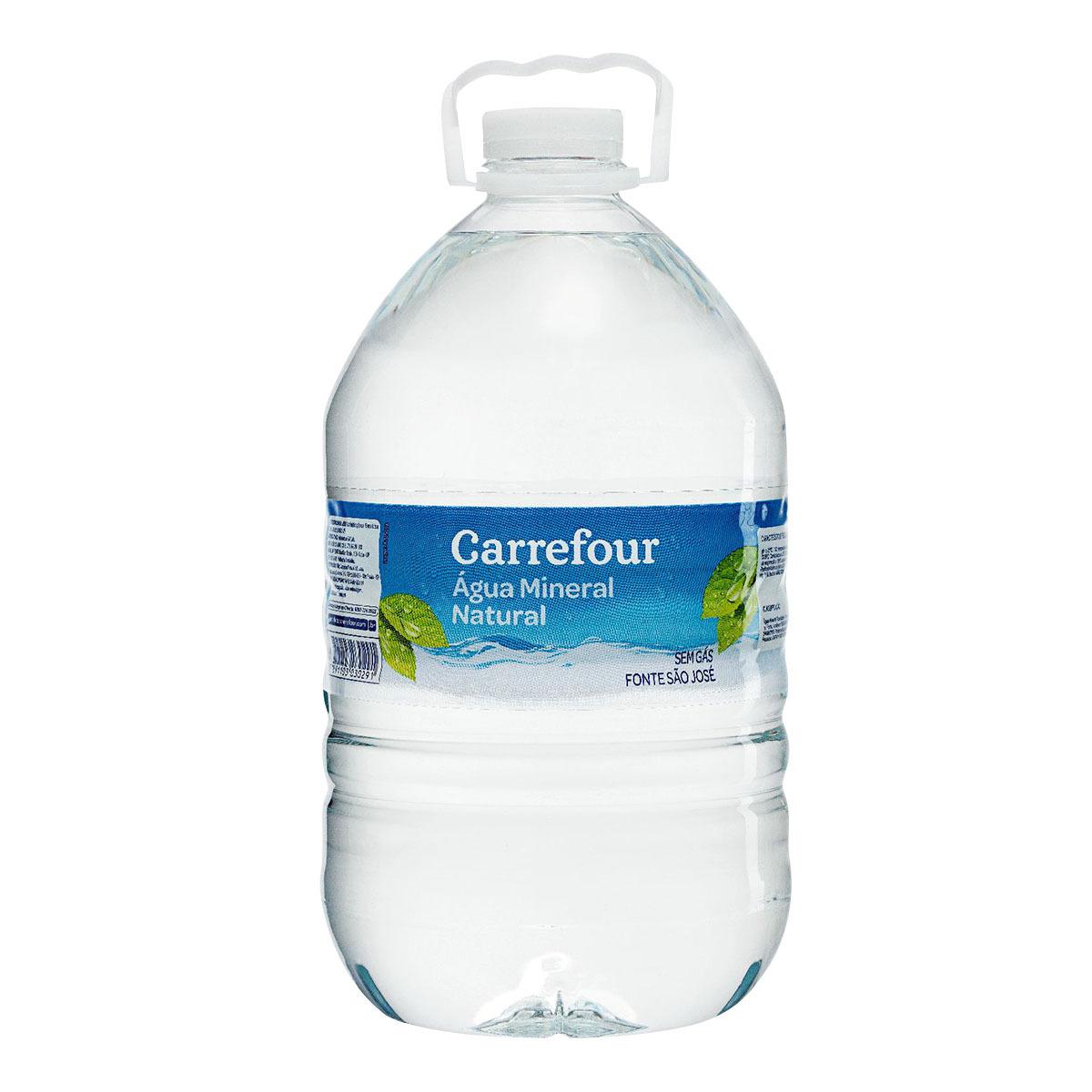 Água Mineral sem Gás Carrefour 5 Litros