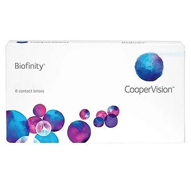 Biofinity Caixa com 6 lentes (3 pares) do mesmo grau