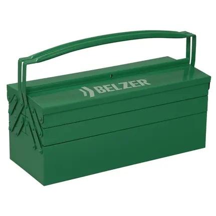 Caixa De Ferramentas Sanfonada Belzer 221001BR Aço Verde