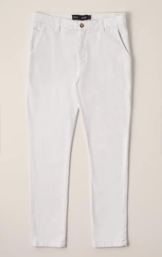 Calça Sarja Casual Elastano Iron - Branco