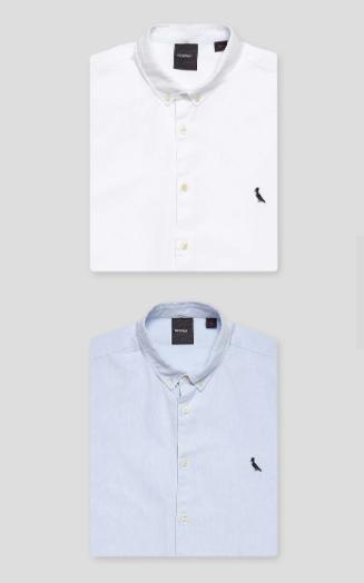 Kit 2 Camisas Oxford Sport