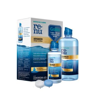 Kit Renu Advanced 475ml (355ml + 120 ml)