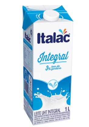 Leite Integral UHT Goiasminas Italac 1 Litro