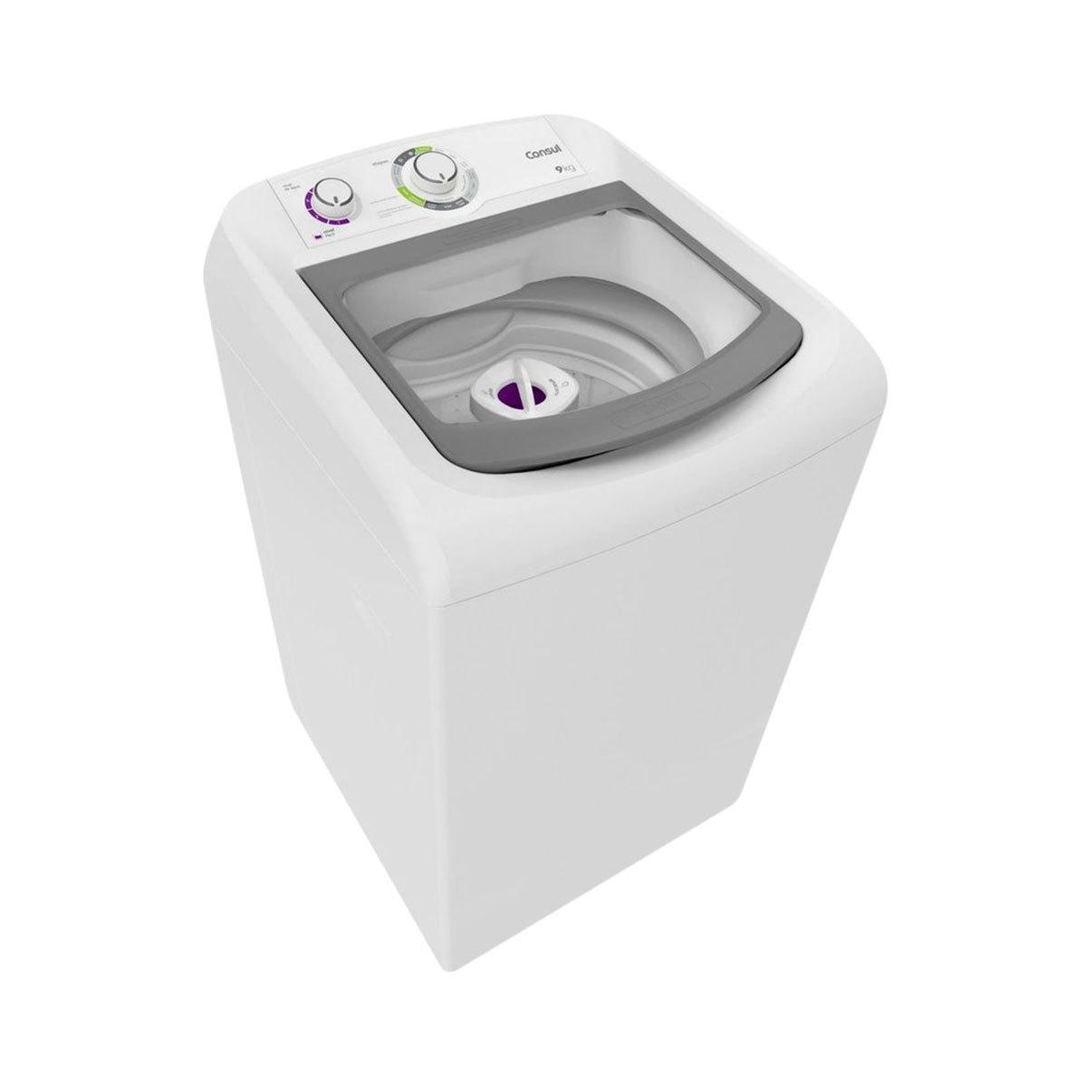 Máquina de Lavar Consul 9kg Branco Linha Branca CWB09AB 220V