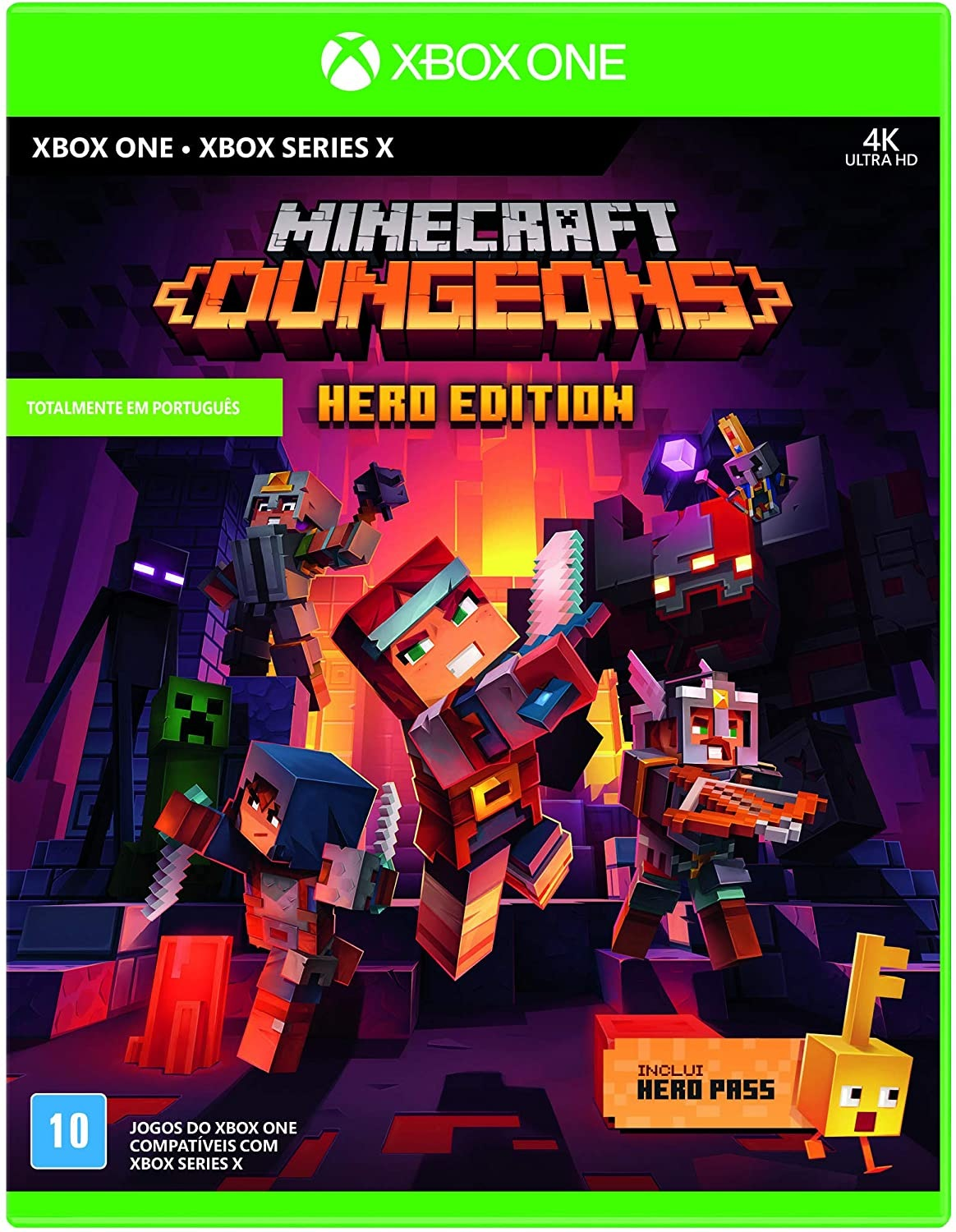 MINECRAFT DUNGEONS XBOX ONE-HERO EDITION (INCLUIDO HERO PASS)