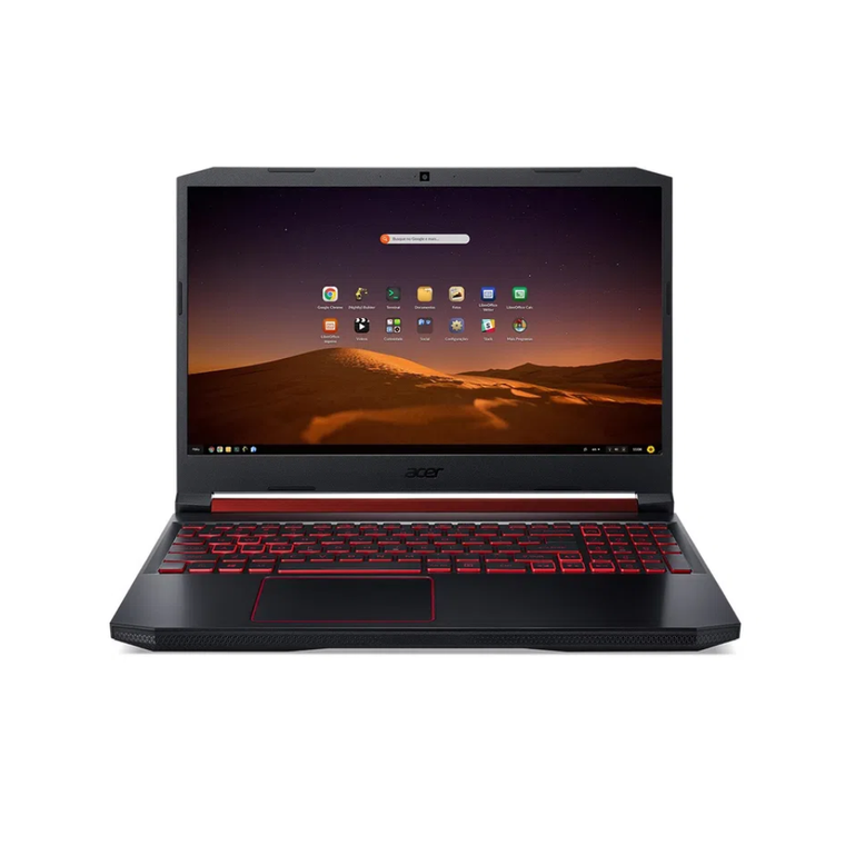 Notebook Gamer Aspire Nitro 5 AN517-51-50JS Intel Core I5 8GB 512GB SSD GTX 1650 17,3' Endless OS