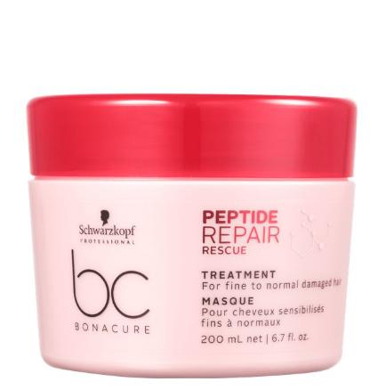 Schwarzkopf BC Peptide Repair Rescue - Máscara de Tratamento Capilar - 200ml